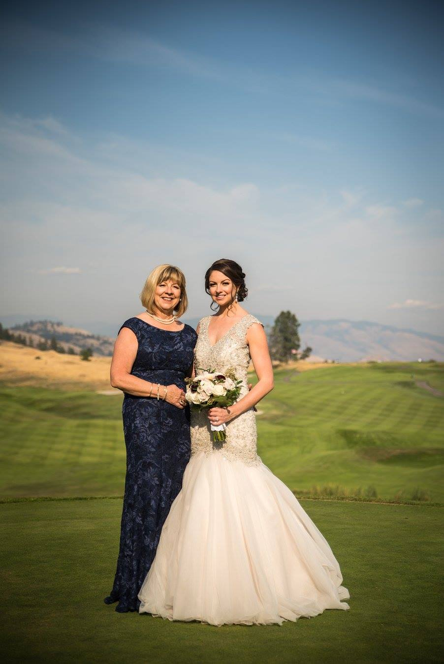 Cassandra Cross and mom wedding 2017 hair.jpg