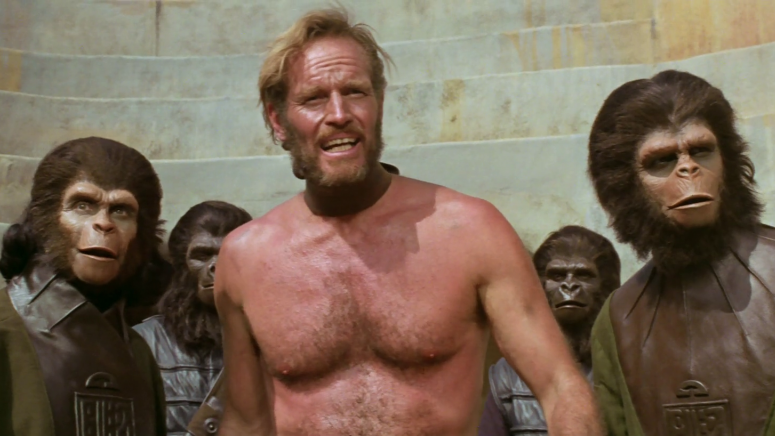 #22) Planet of the Apes -  (1968 - dir. Franklin J. Schaffner)