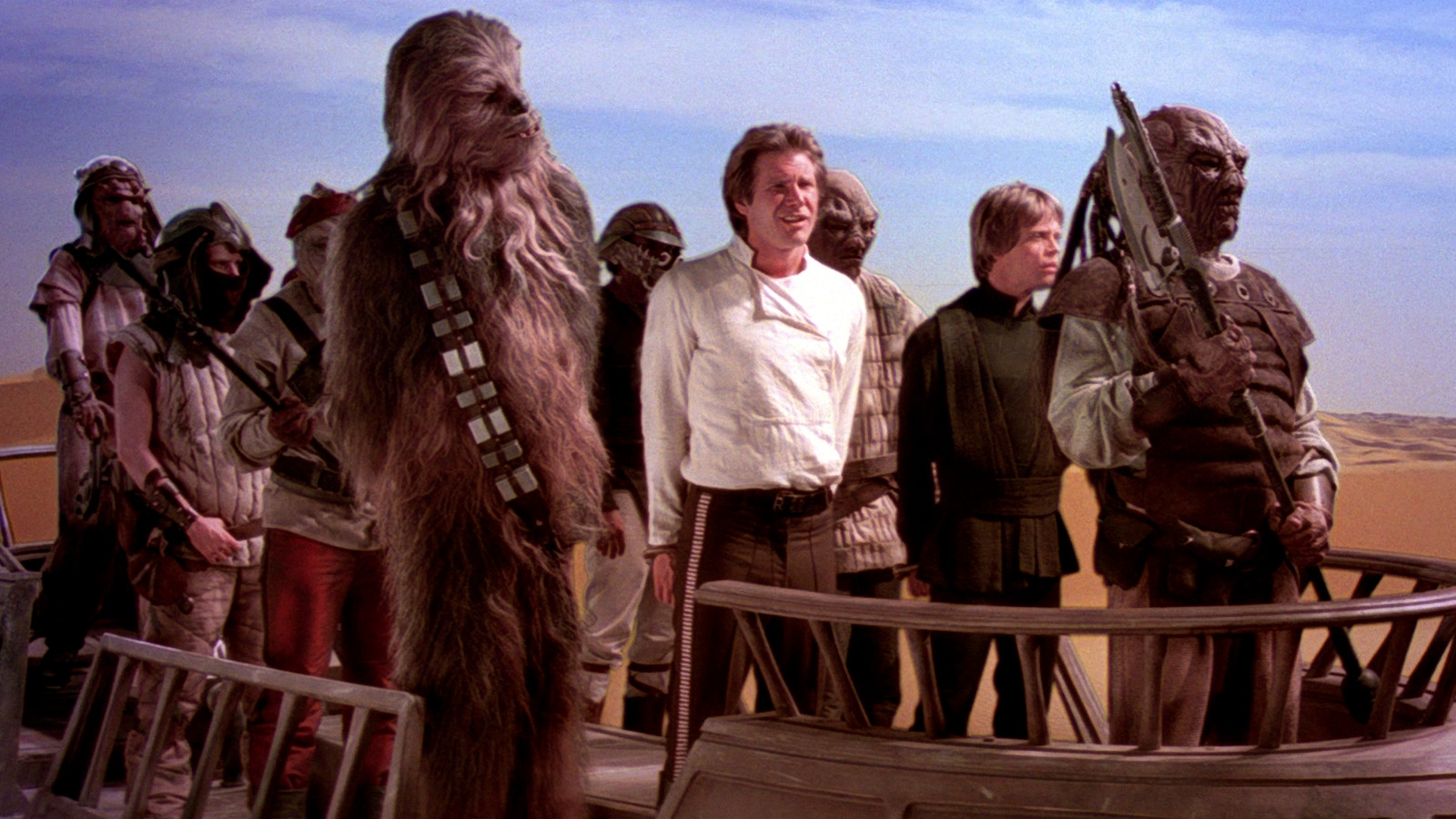 #38) Return of the Jedi (-7) - (1983 - dir. Richard Marquand)