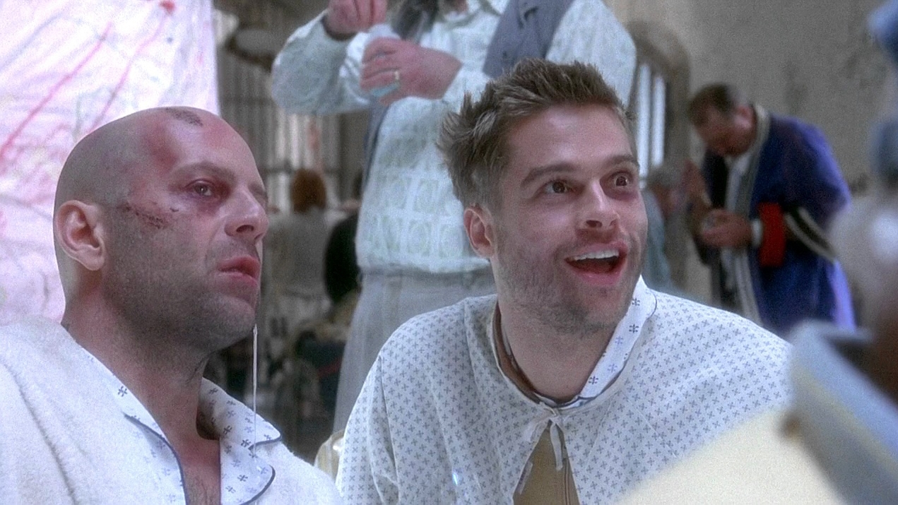 #47) 12 Monkeys (-1) - (1995 - dir. Terry Gilliam)