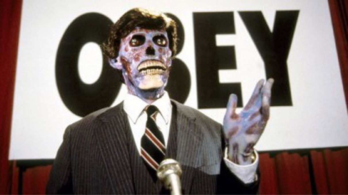 #39) They Live (+16) - (1988 - dir. John Carpenter)