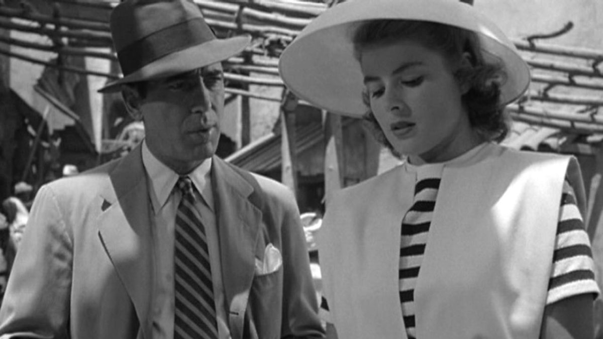 #5) Casablanca - (1942 - dir. Michael Curtiz)