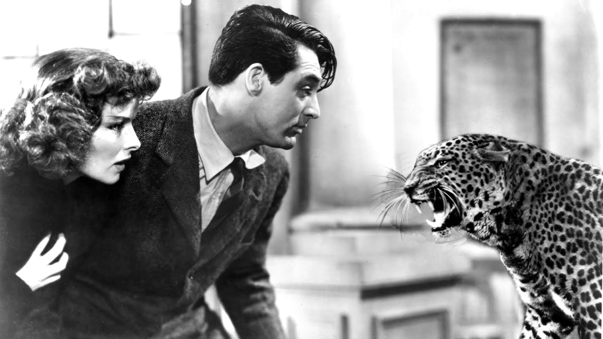 #55) Bringing Up Baby - (1938 - dir. Howard Hawks)