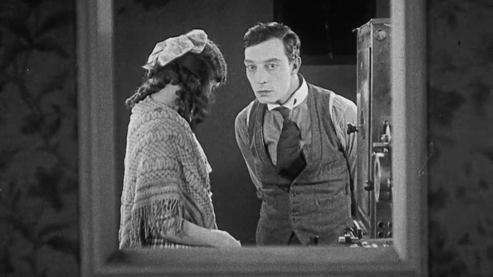 #57) Sherlock Jr. - (1924 - dir. Buster Keaton, William Goodrich)