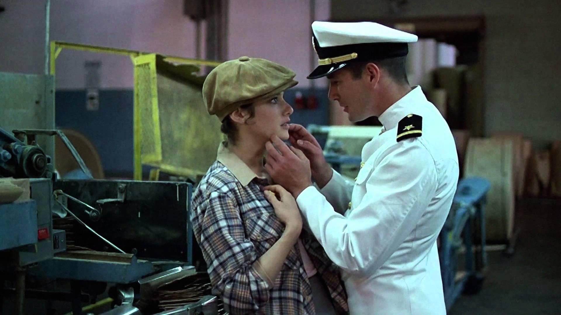#74) An Officer and a Gentleman - (1982 - dir. Taylor Hackford)