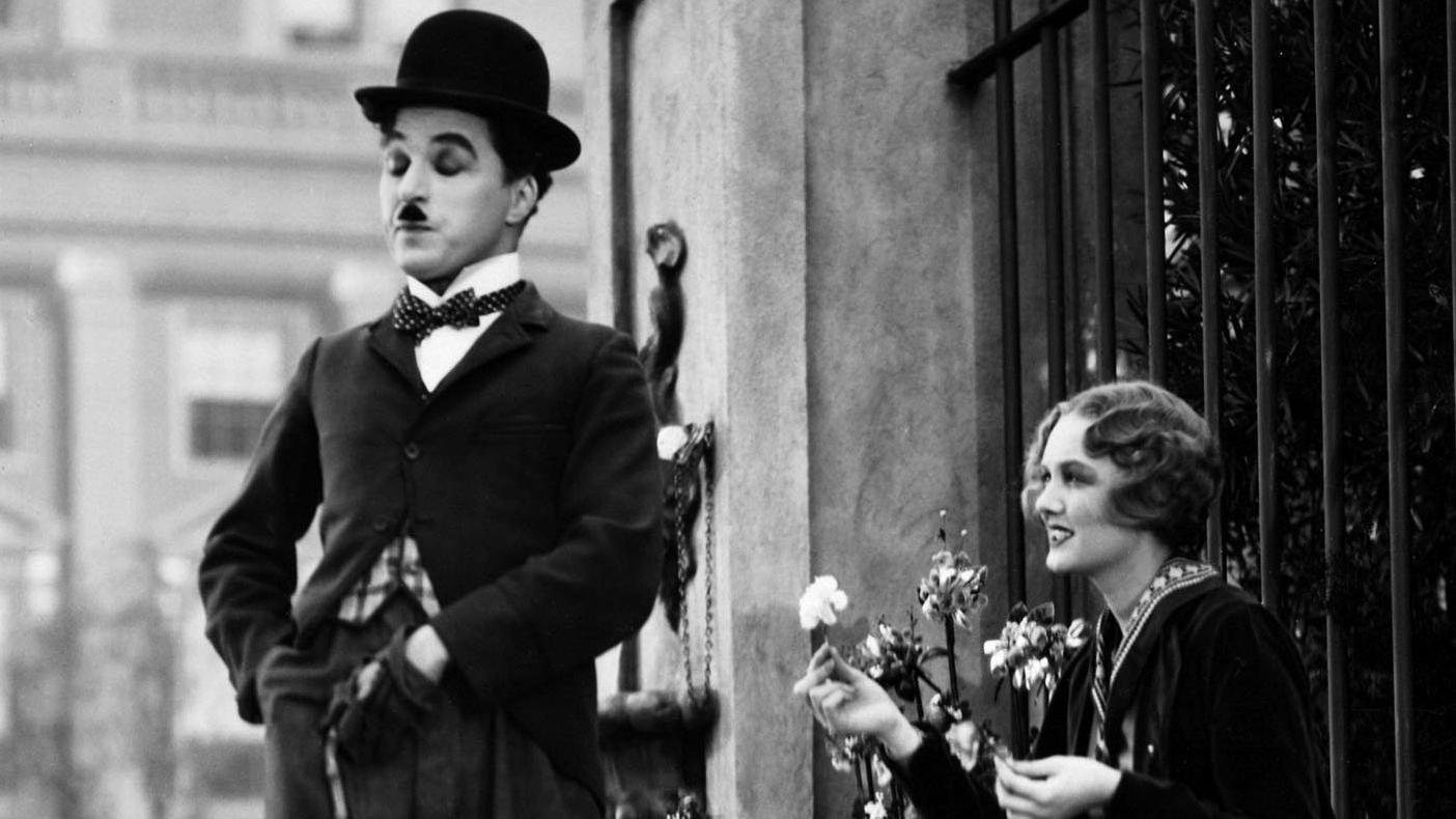 #3) City Lights - (1931 - dir. Charlie Chaplin)