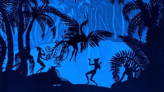 #84) The Adventures of Prince Achmed - (1926 - dir. Lotte Reiniger & Carl Koch)