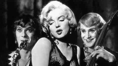 #1) Some Like It Hot - (1959 - dir. Billy Wilder)