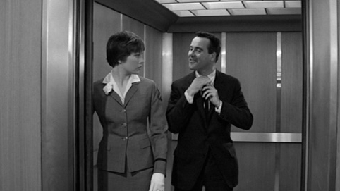 #6) The Apartment - (1960 - dir. Billy Wilder)