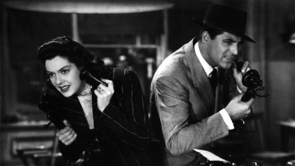 #24) His Girl Friday - (1940 - dir. Howard Hawks)