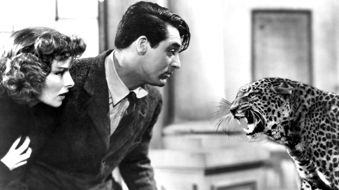#35) Bringing Up Baby - (1938 - dir. Howard Hawks)