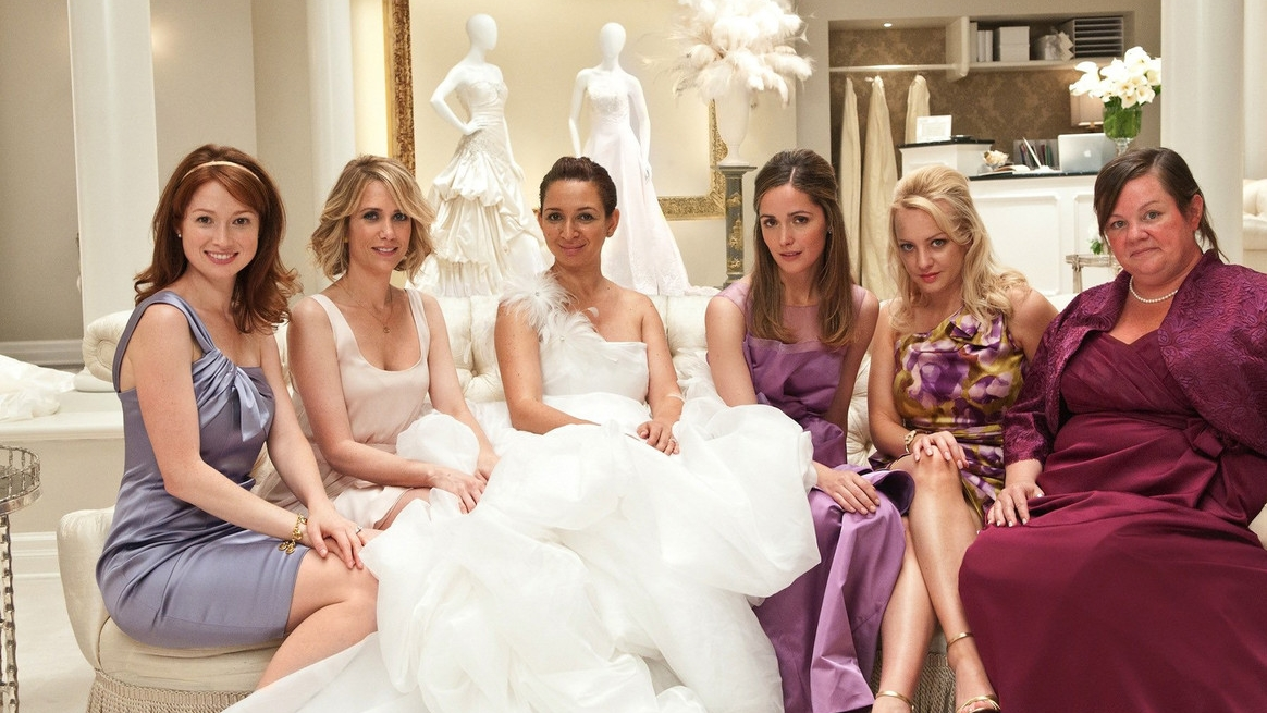#39) Bridesmaids - (2011 - dir. Paul Feig)
