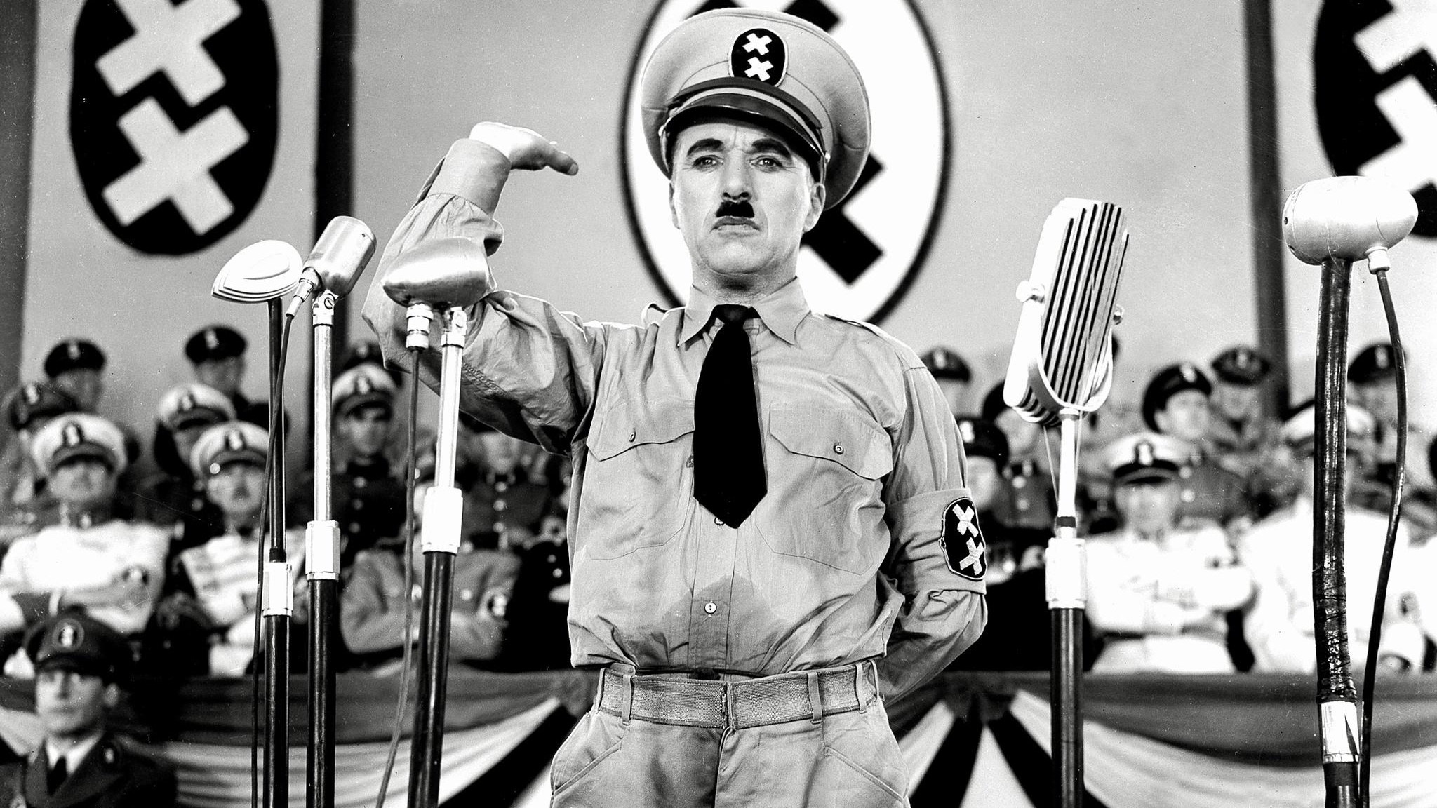 #45) The Great Dictator - (1940 - dir. Charlie Chaplin)