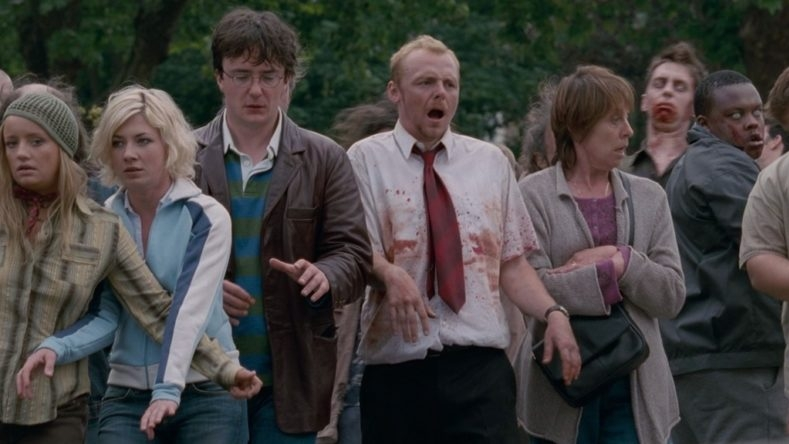 #48) Shaun of the Dead - (2004 - dir. Edgar Wright)