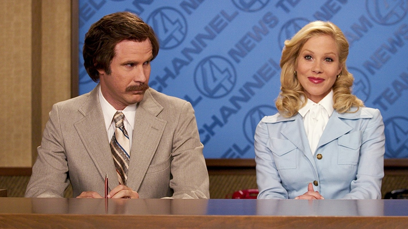 #44) Anchorman: The Legend of Ron Burgundy - (2004 - dir. Adam McKay)