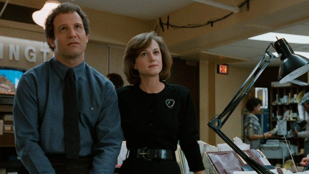 #58) Broadcast News - (1987 - dir. James L. Brooks)