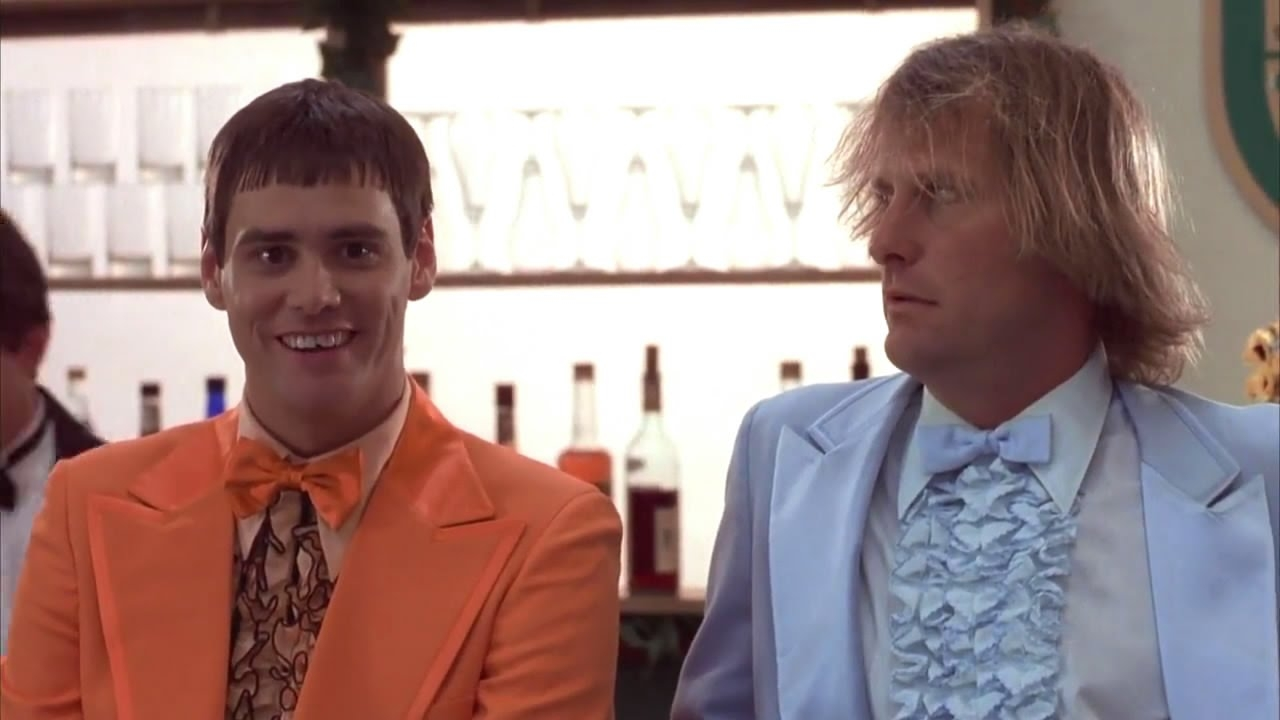 #69) Dumb and Dumber - (1994 - dir. Bobby & Peter Farrelly)