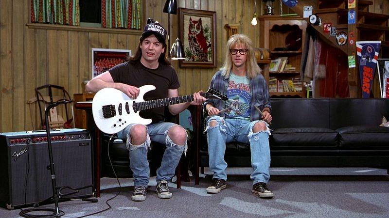 #85) Wayne's World - (1992 - dir. Penelope Spheeris)
