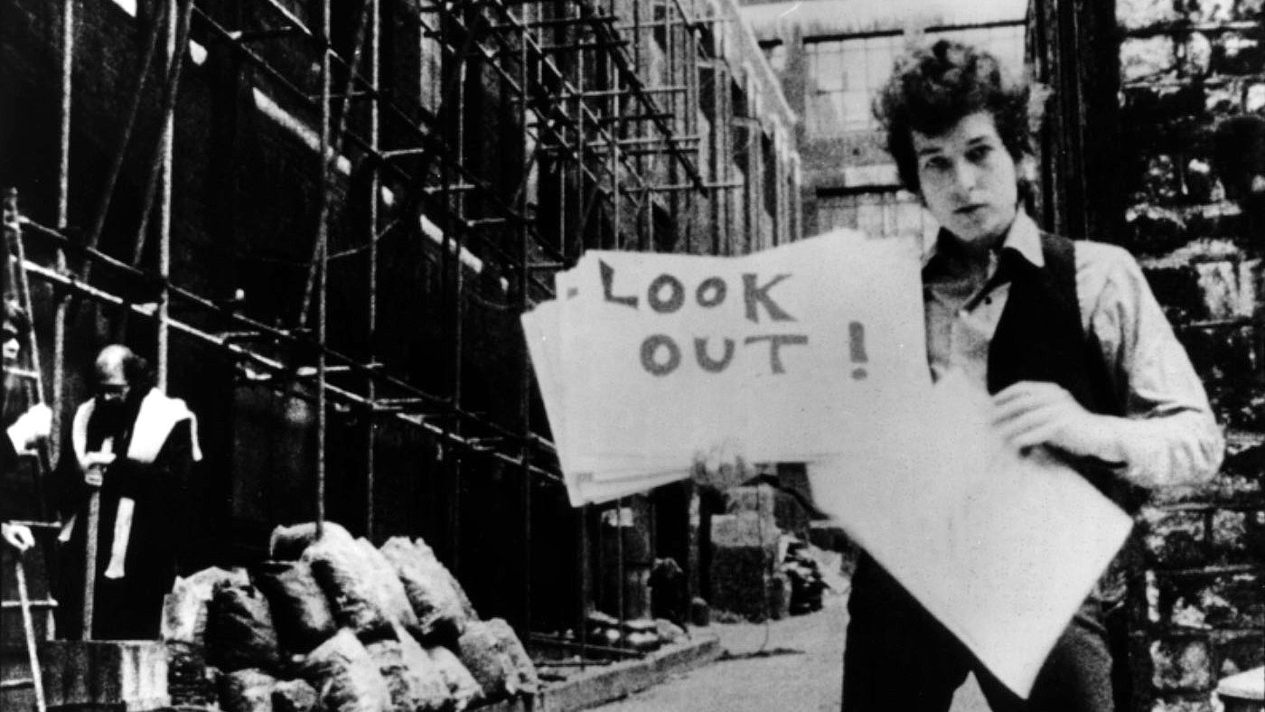 #9) Dont Look Back - (1967 - dir. D.A. Pennebaker)