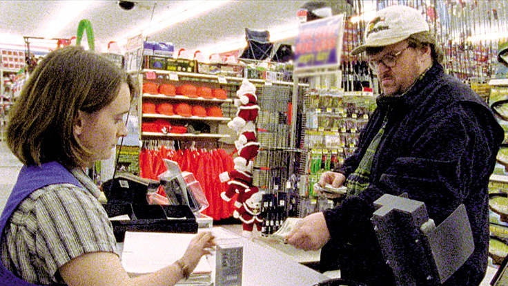 #53) Bowling for Columbine - (2002 - dir. Michael Moore)