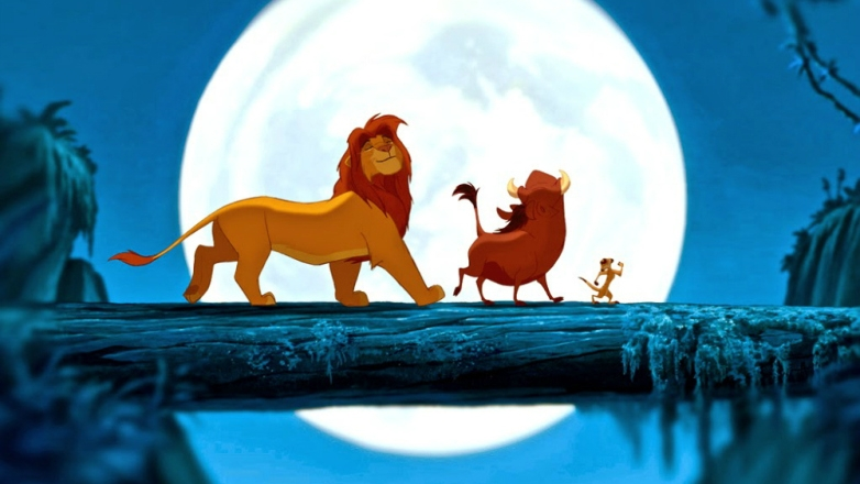 #5) The Lion King - (1994 - dir. Rob Minkoff, Roger Allers)