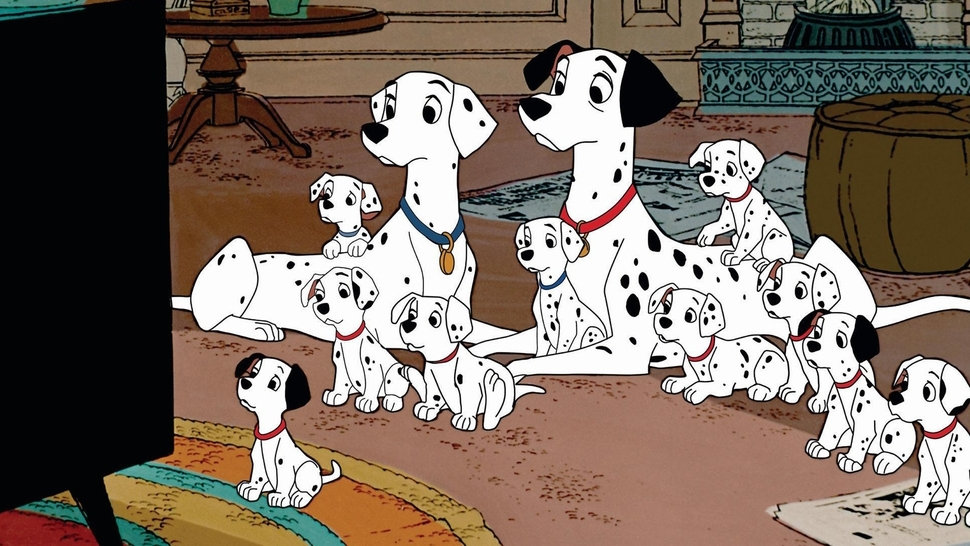 #20) One Hundred and One Dalmatians - (1961 - dir. Clyde Geronimi, Hamilton Luske)