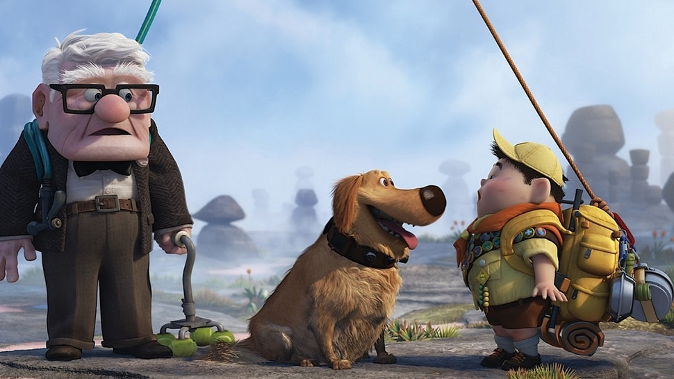 #25) Up - (2009 - dir. Bob Peterson, Pete Docter)