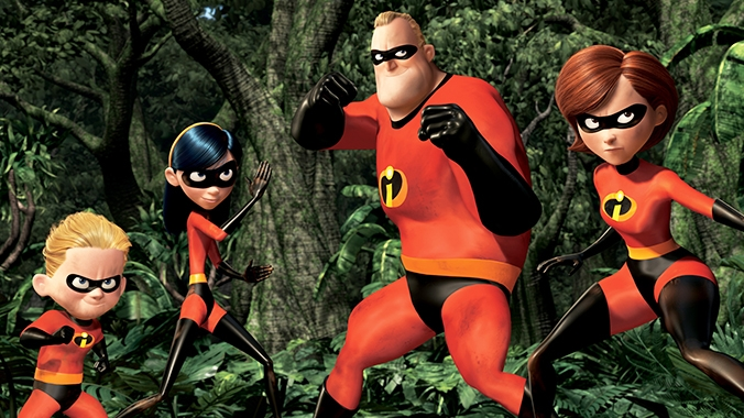 #26) The Incredibles - (2004 - dir. Brad Bird)