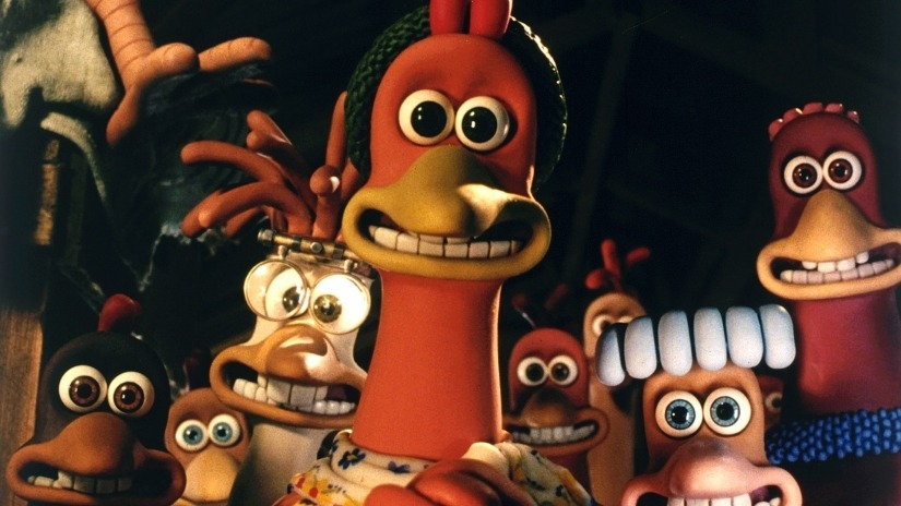 #34) Chicken Run - (2000 - dir. Nick Park, Peter Lord)
