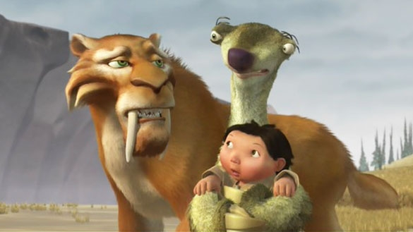 #53) Ice Age - (2002 - dir. Chris Wedge)