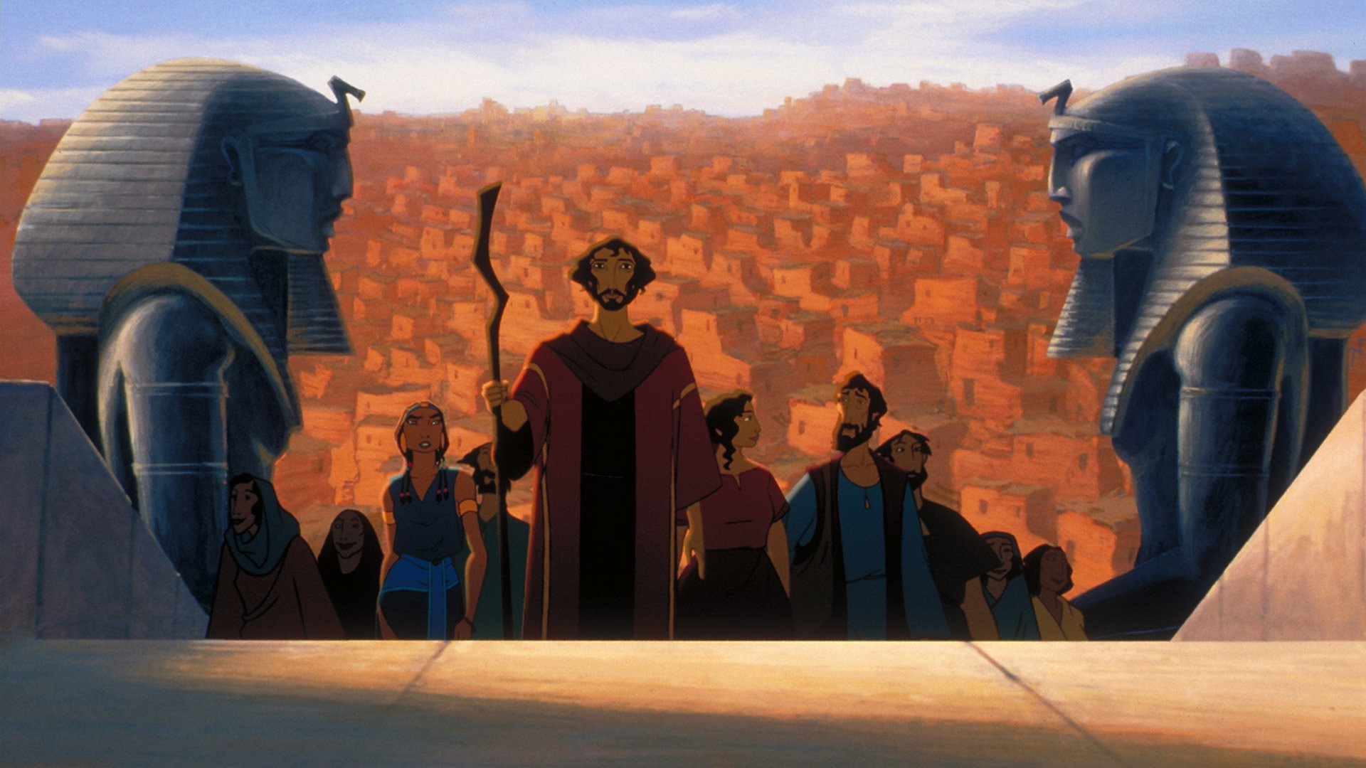 #65) The Prince of Egypt - (1998 - dir. Brenda Chapman, Steve Hickner)