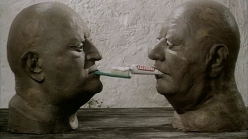 #75) Dimensions of Dialogue - (1982 - dir. Jan Švankmajer)