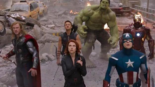 #2) The Avengers - (2012 - dir. Joss Whedon)