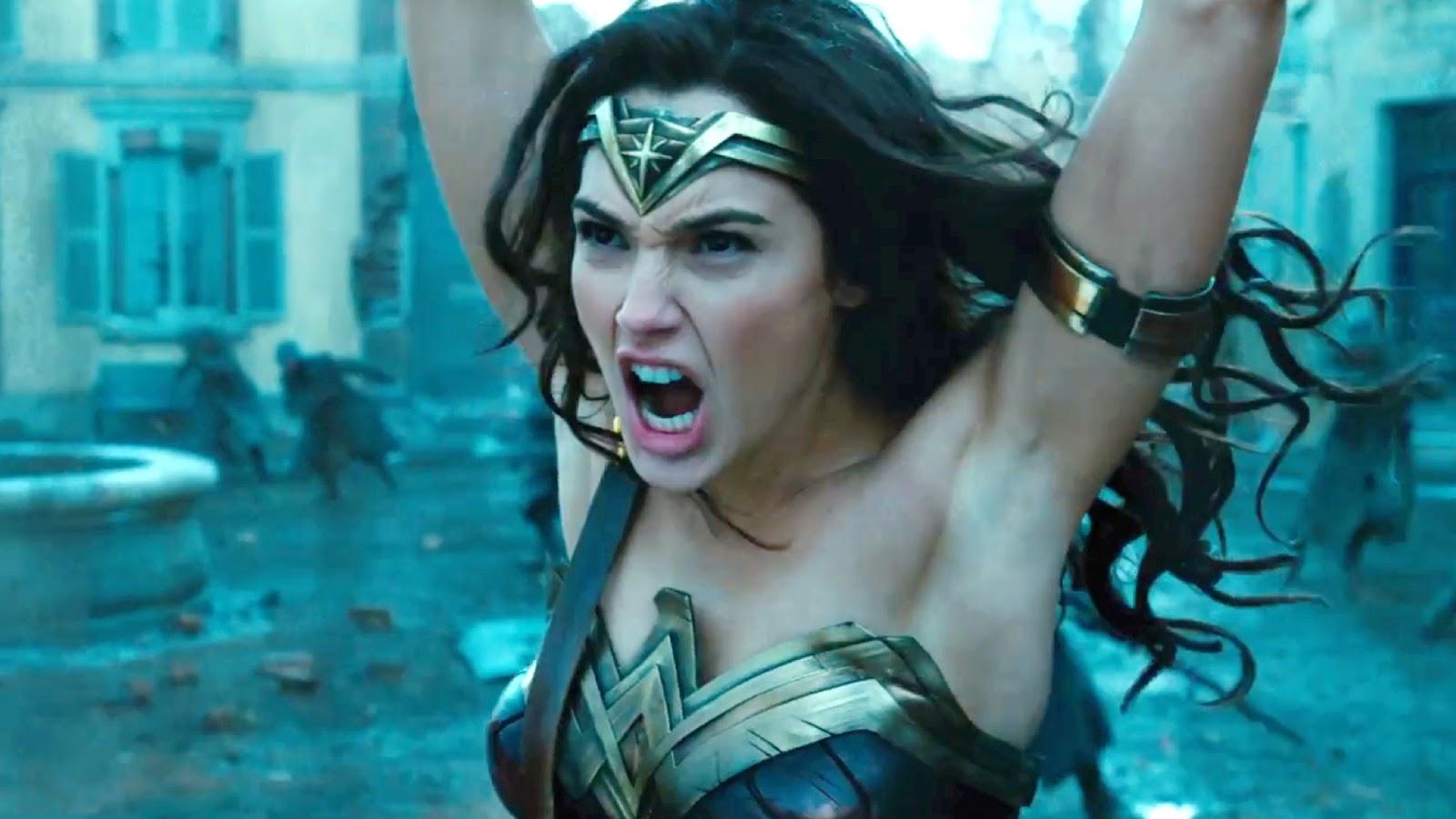 #6) Wonder Woman(+3) - (2017 - dir. Patty Jenkins)