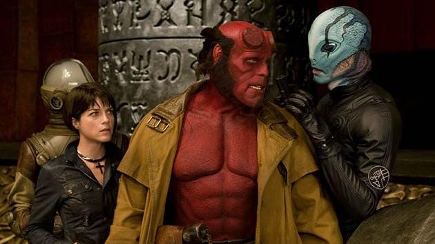 #19) Hellboy II: The Golden Army(+10) - (2008 - dir. Guillermo del Toro)