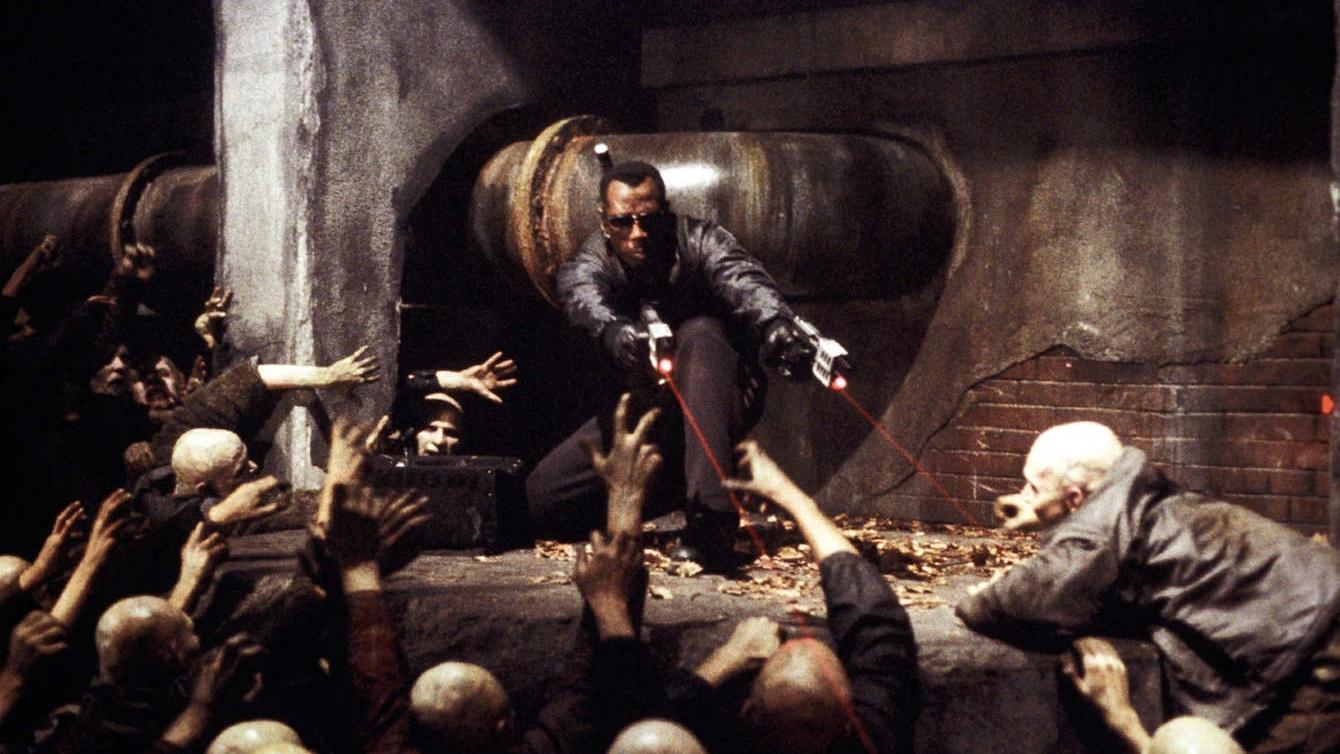 #44) Blade II(-1) - (2002 - dir. Guillermo del Toro)