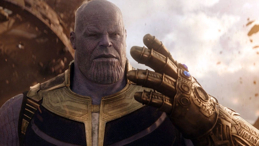 #45) The Avengers: Infinity War - (2018 - dir. Joe & Anthony Russo)