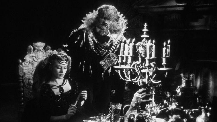 #9) La belle et la bête - (1946 - dir.Jean Cocteau)
