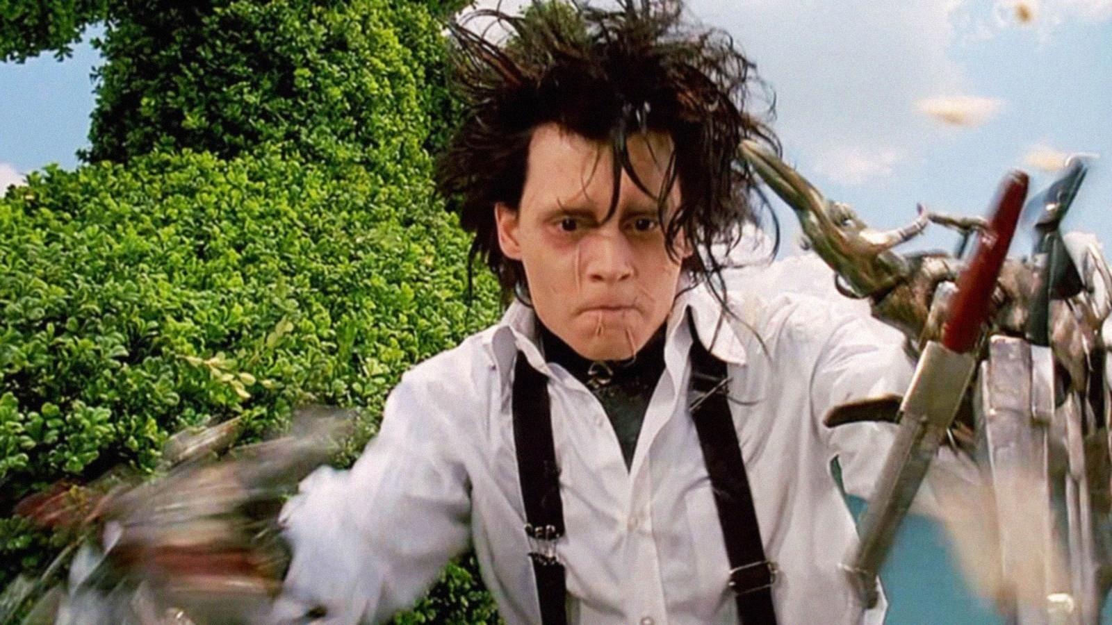 #15) Edward Scissorhands - (1990 - dir. Tim Burton)