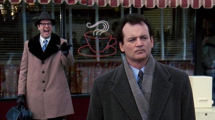 #23) Groundhog Day - (1993 - dir. Harold Ramis)