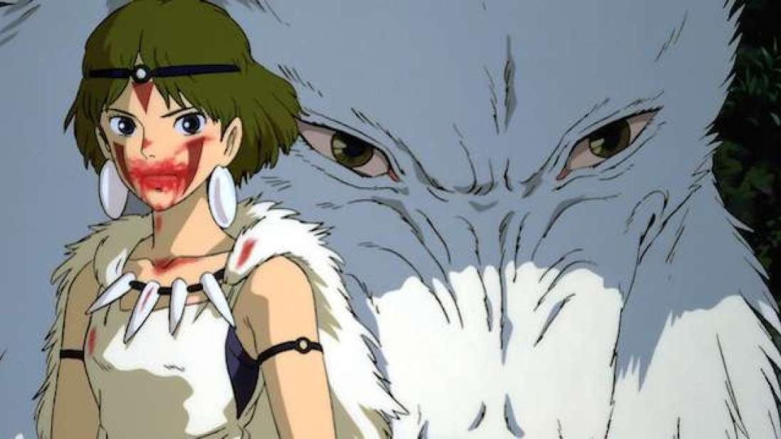 #28) Princess Mononoke - (1997 - dir.Hayao Miyazaki)