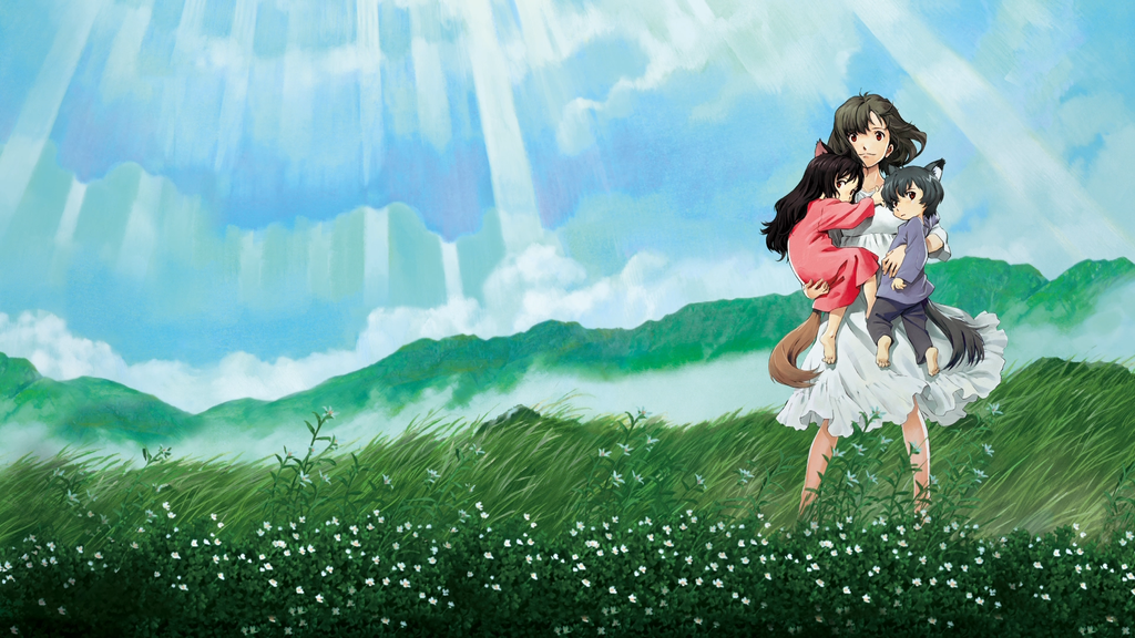 #66) Wolf Children - (2012 - dir. Mamoru Hosoda)