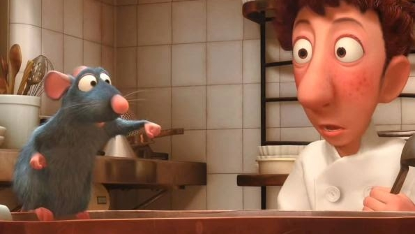 #74) Ratatouille - (2007 - dir. Brad Bird)