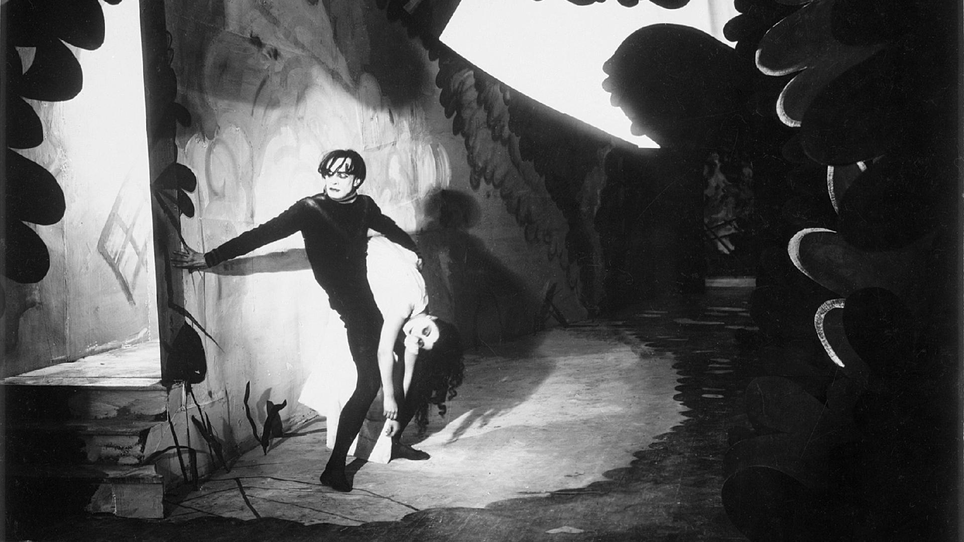 #99) The Cabinet of Dr. Caligari - (1920 - dir. Robert Wiene)