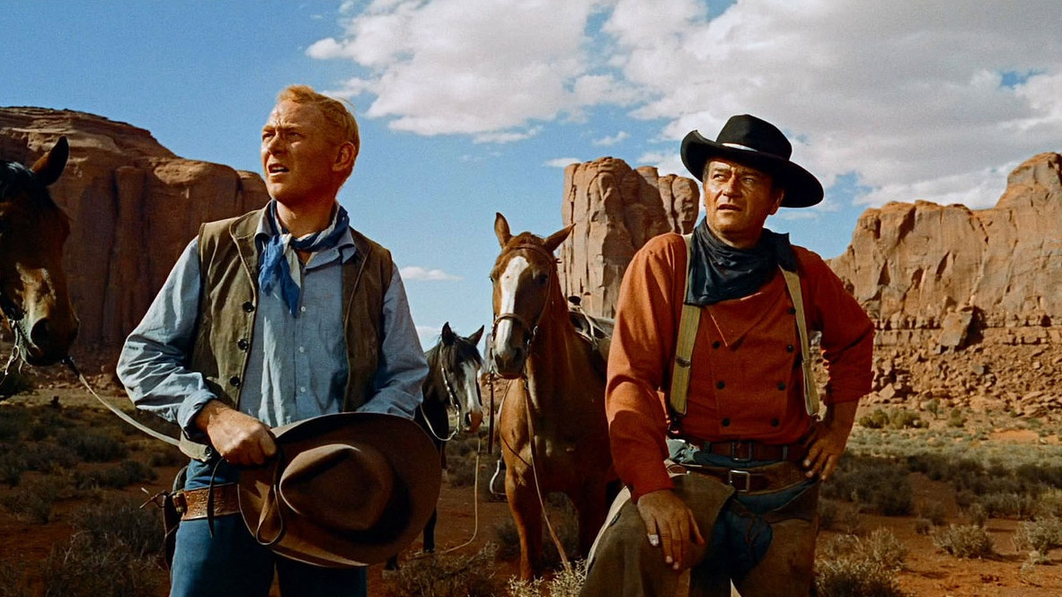 #1) The Searchers - (1956 - dir. John Ford)