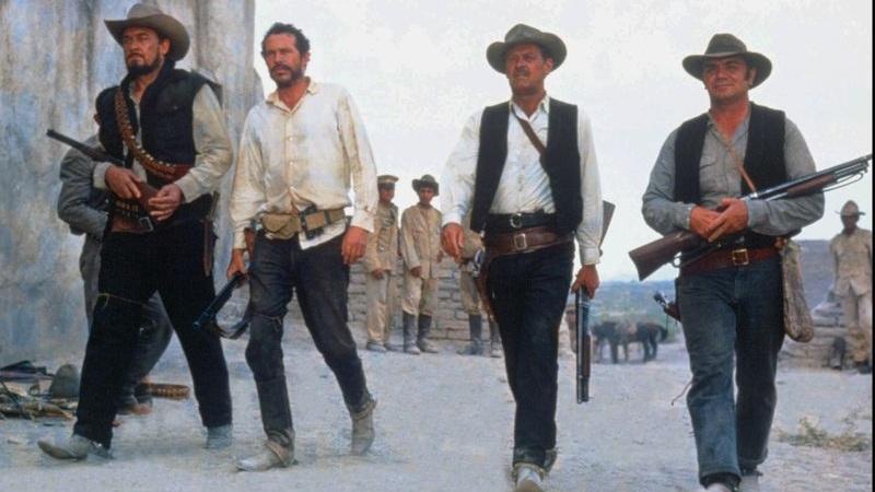 #3) The Wild Bunch - (1969 - dir. Sam Peckinpah)