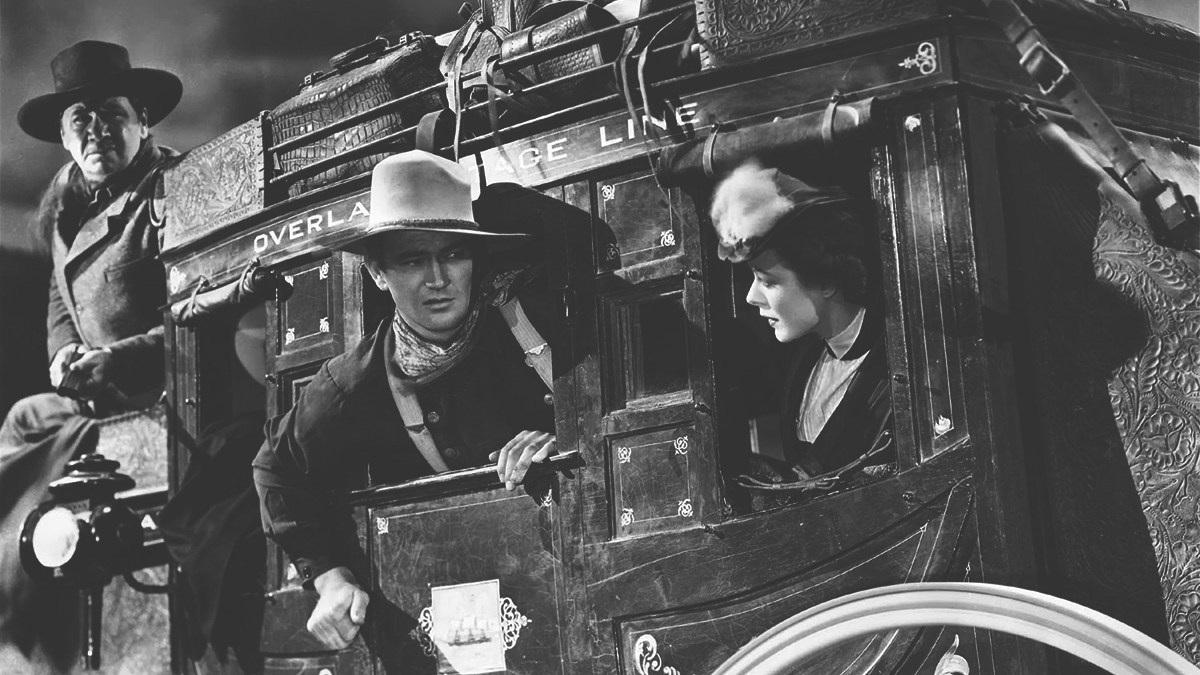#8) Stagecoach - (1939 - dir. John Ford)
