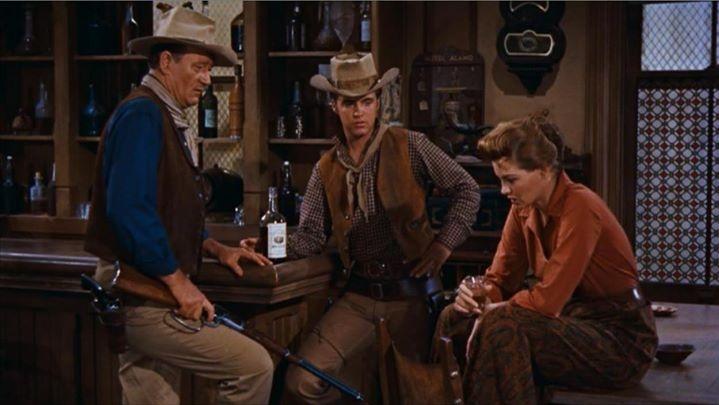 #10) Rio Bravo - (1959 - dir. Howard Hawks)