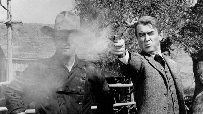 #12) The Man Who Shot Liberty Valance - (1962 - dir. John Ford)