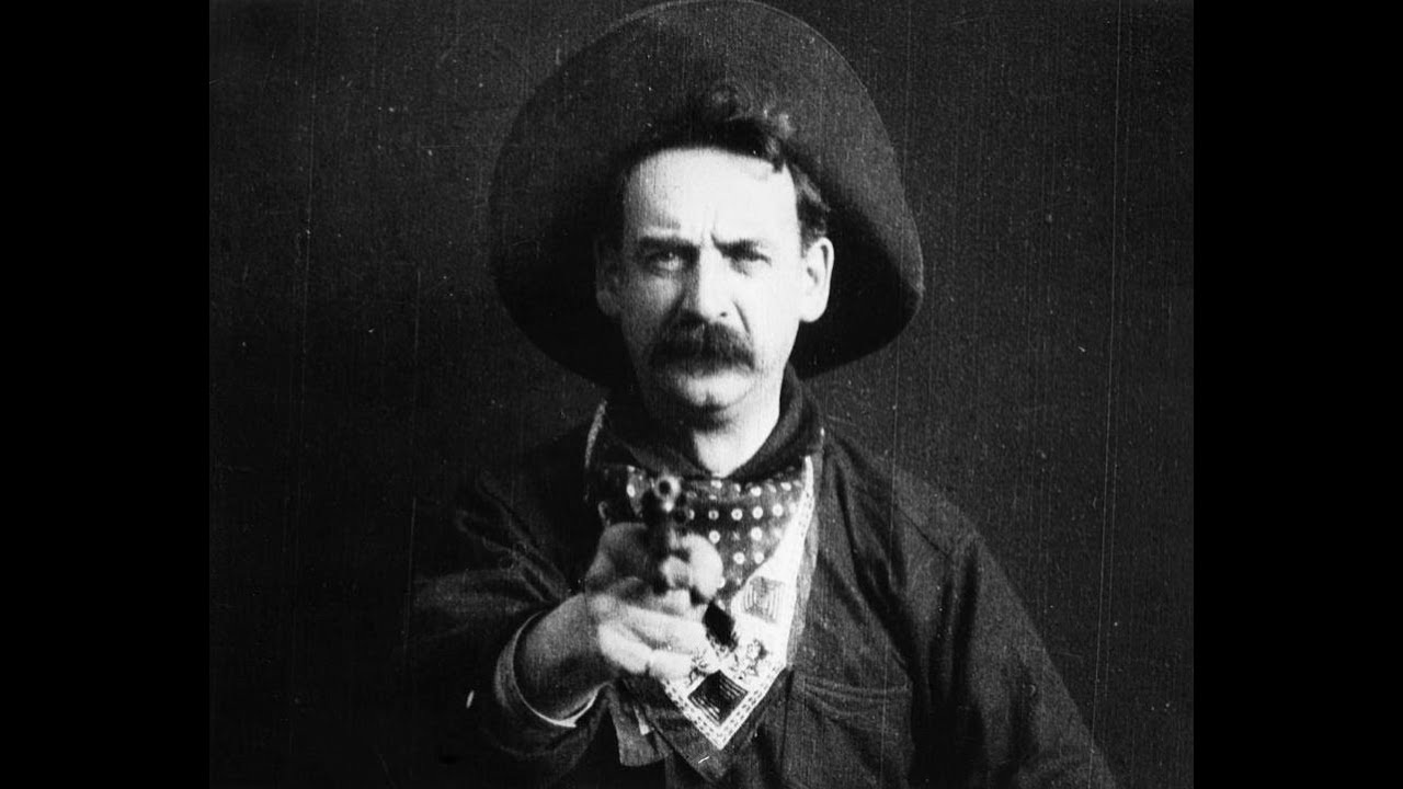 #51) The Great Train Robbery - (1903 - dir. Edwin S. Porter)